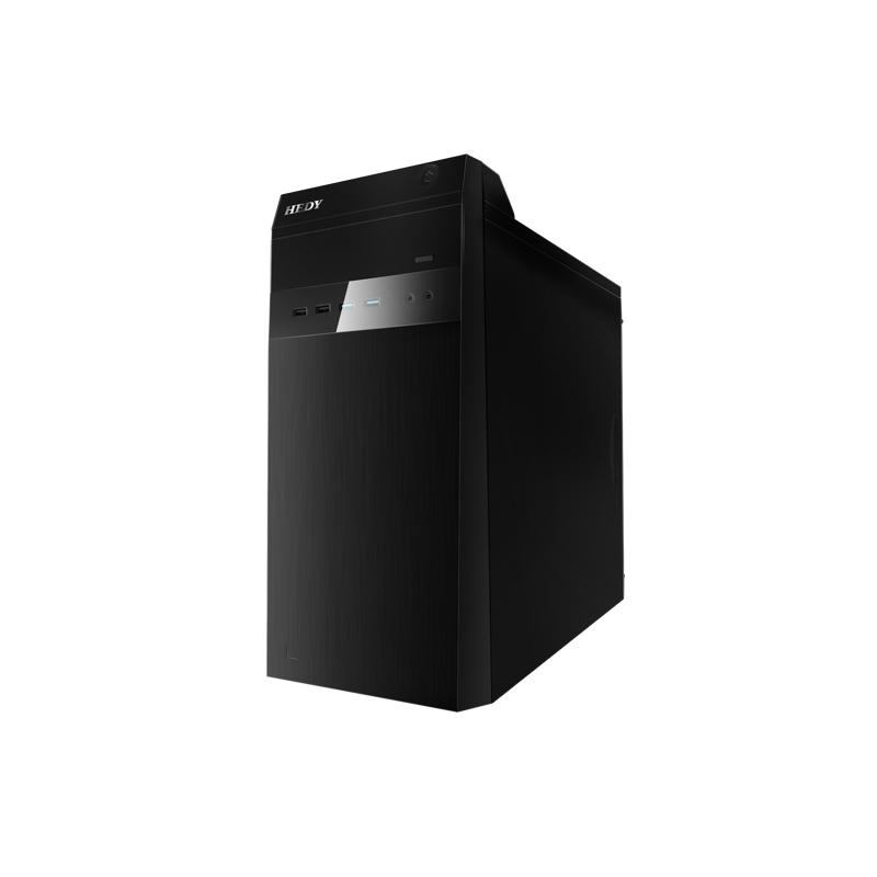小熊U机 G10 台式机电脑租赁(I7-8700/16G/240G SSD+2T/GTX1660 6G独显/飞利浦243S7QDSBF 24英寸显示器)