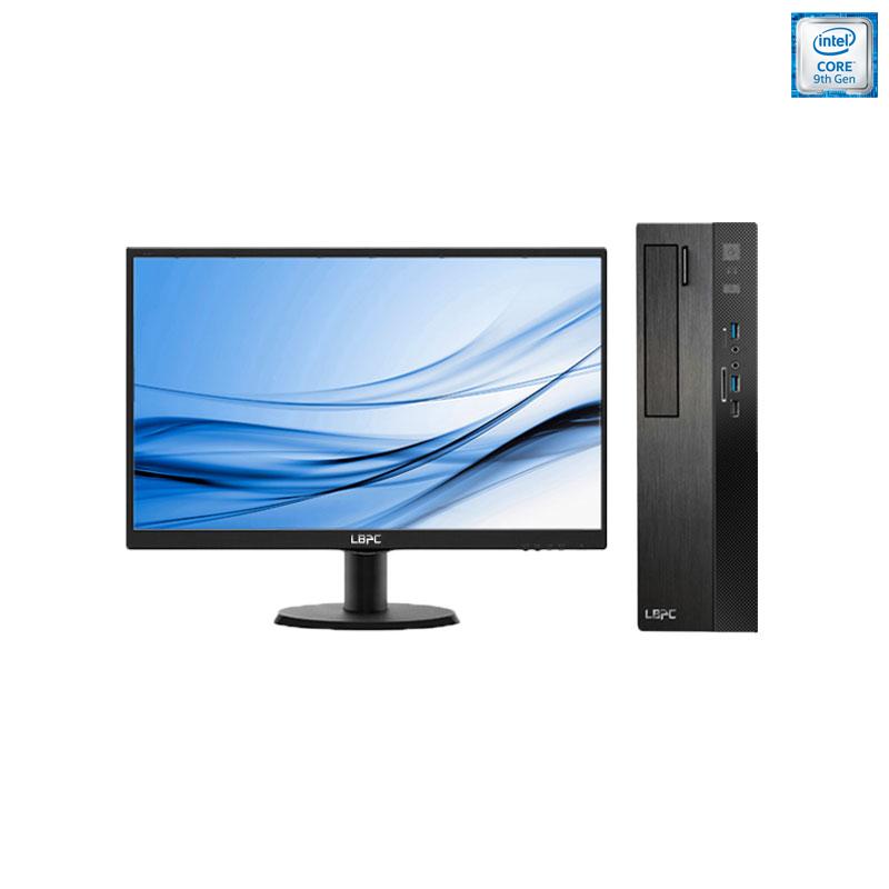 小熊U机 S20 台式机电脑租赁(G4930/4G/120G SSD/核显/飞利浦 19.5英寸显示器)