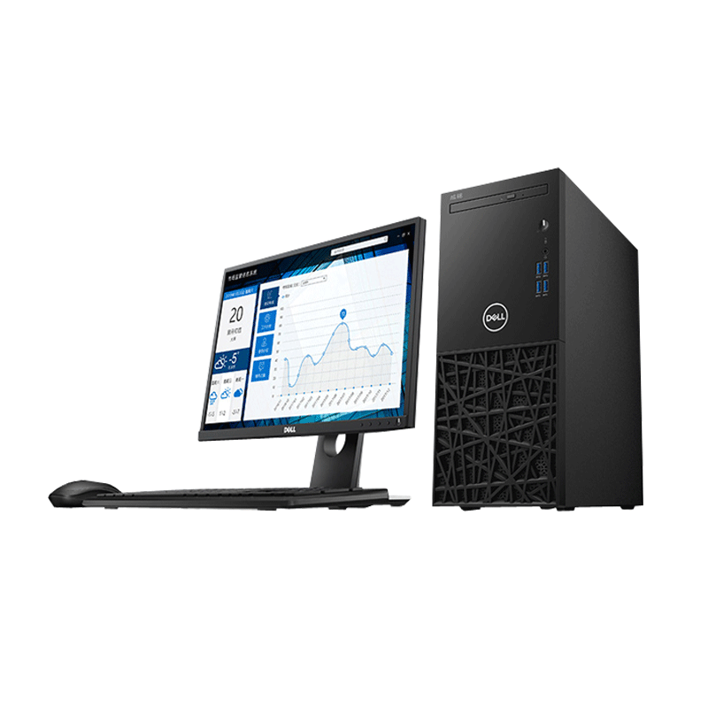 """戴尔Dell 成铭3991【21.5"""" i3-10 8G 256G 核显】"""