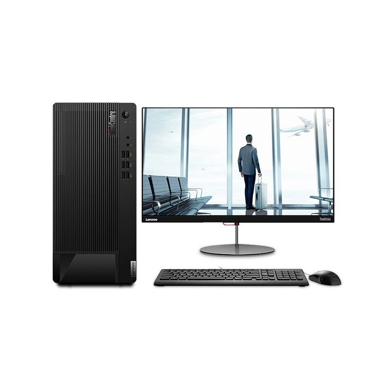 联想Lenovo E97 台式机电脑租赁(G5905/8G/256G SSD/核显/WIN10家庭版/联想显示器 T2055 20英寸)