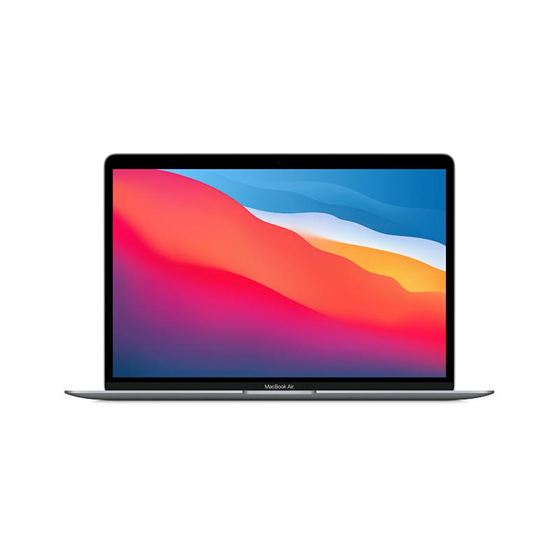 苹果Apple MacBook Air 13.3英寸笔记本电脑租赁 MGN63CH/A(八核 M1/8G/256G SSD/核显/13.3/2K/MacOS/深灰/1年保修 )