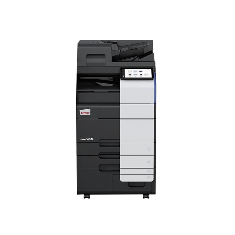 德凡 ineo+450i 彩色激光复合机 文印产品租赁(含每月2000张黑白打印量)