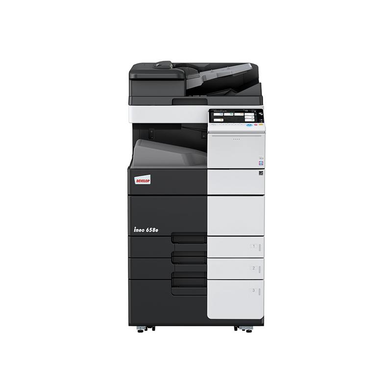 德凡 ineo 658e 黑白激光复合机 文印产品租赁(含每月3000张黑白打印量)