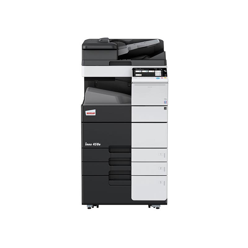 德凡 ineo 458e 黑白激光复合机 文印产品租赁(含每月3000张黑白打印量)