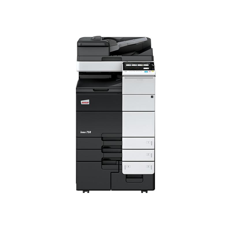 德凡 ineo 758 黑白激光复合机 文印产品租赁(含每月3000张黑白打印量)