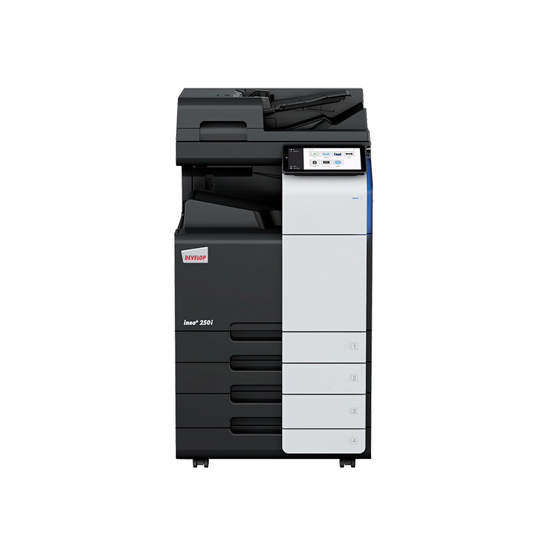 德凡 ineo+250i 彩色激光复合机 复印机扫描仪打印机一体 文印产品租赁(含每月2000张黑白打印量)