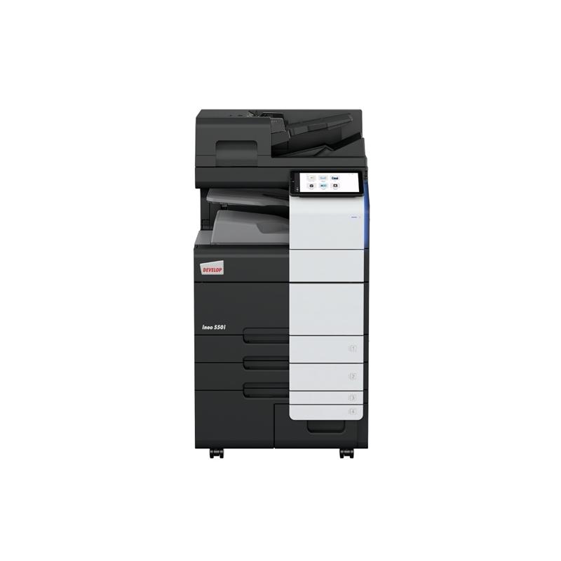 德凡 ineo+550i 彩色激光复合机 复印机扫描仪打印机一体 文印产品租赁(含每月2000张黑白打印量)