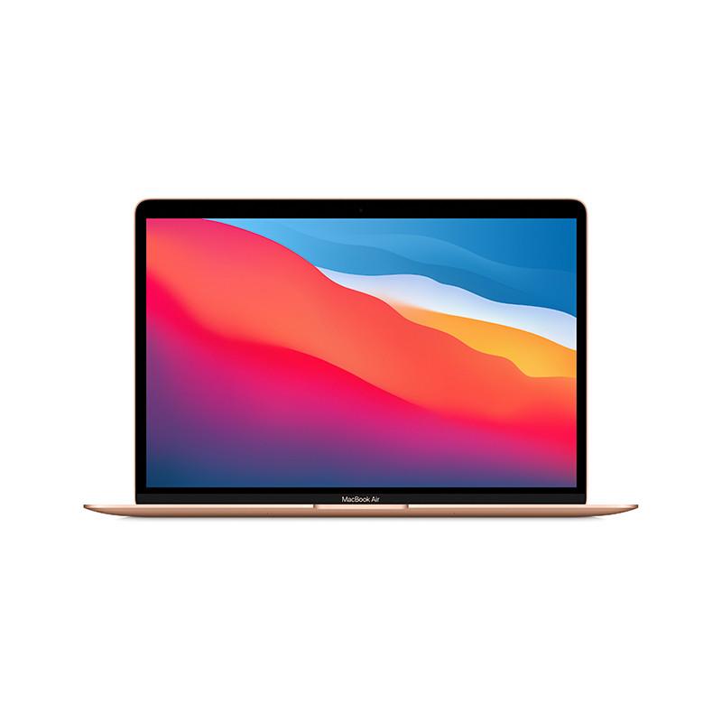 苹果Apple MacBook Air 13.3英寸笔记本电脑租赁 MGND3CH/A(八核 M1/8G/256G SSD/核显/13.3/2K/MacOS/金色/1年保修)