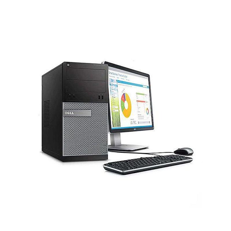 戴尔Dell 3020MT 台式机电脑(【特价】I7-4代/8G/240G SSD/核显/戴尔 24英寸次新显示器)