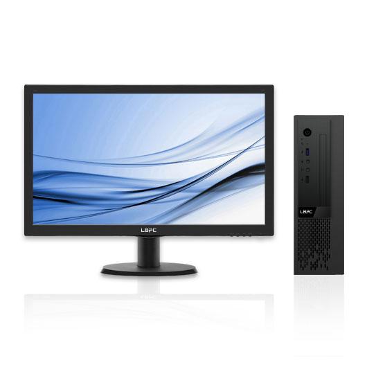 小熊U机 S10 台式机电脑租赁(I3-8100/8G/240G SSD/核显/飞利浦 20英寸次新显示器)