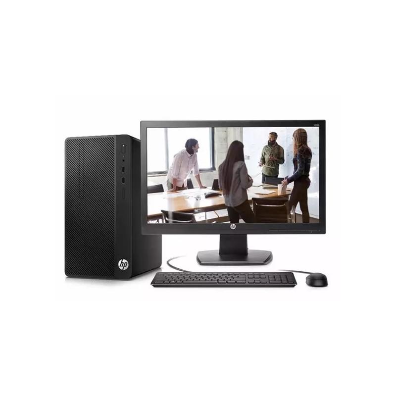 惠普HP 288G3 台式机电脑租赁(I3-6100/8G/240G SSD/核显 /惠普 20英寸显示器)