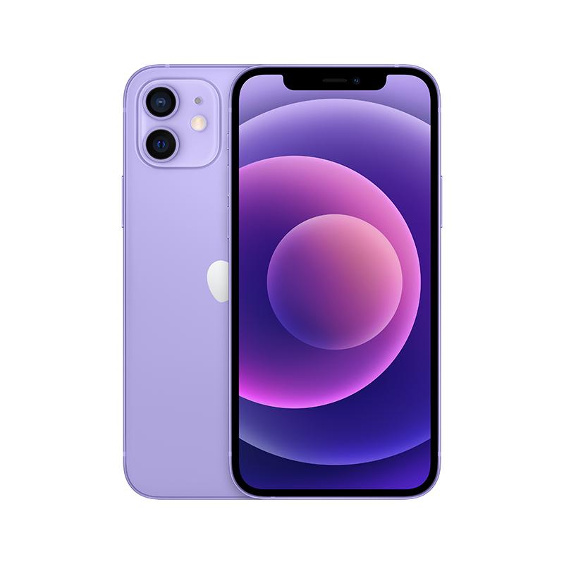 苹果Apple iPhone12 mini 5.4英寸手机租赁(【预定】64G/紫色)